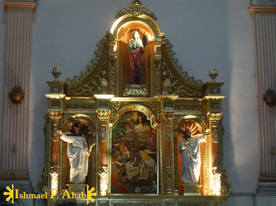 Images of the saints in Cebu Metropolitan Cathedral