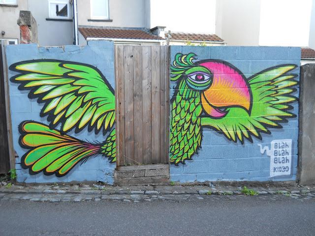 kid 30 street art bristol