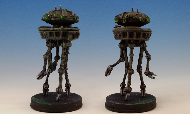 Probe Droids, Imperial Assault FFG (2014, sculpted by Benjamin Maillet)