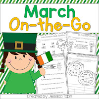St Patricks Day activities for primary students- writing activity with leprechaun visiting the classroom