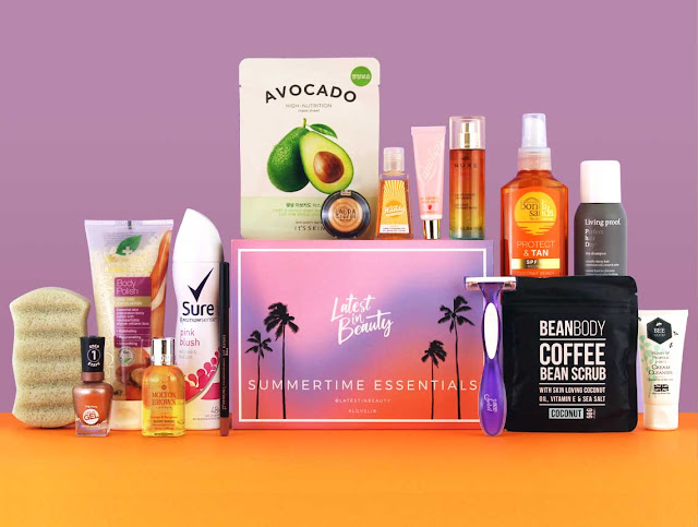 Latest In Beauty Summer Essentials Box