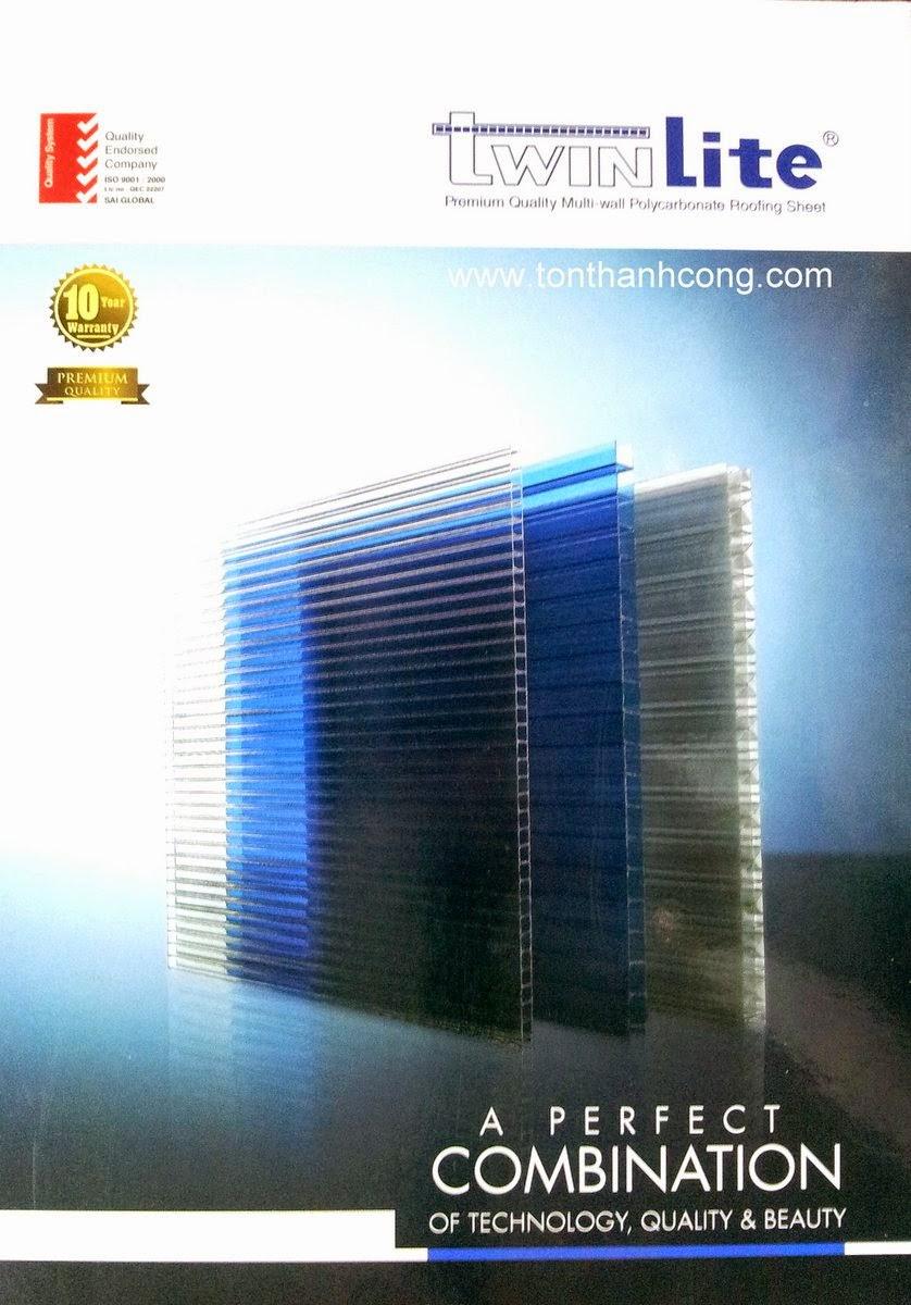 Logo & thương hiệu tấm lợp lấy sáng Polycarbonate rỗng ruột TWINLITE Việt Nam