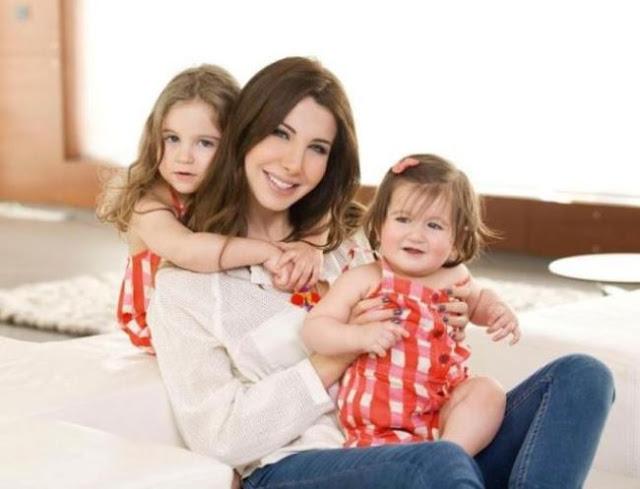 نانسي عجرم تستقبل طفلتها الثالثة.