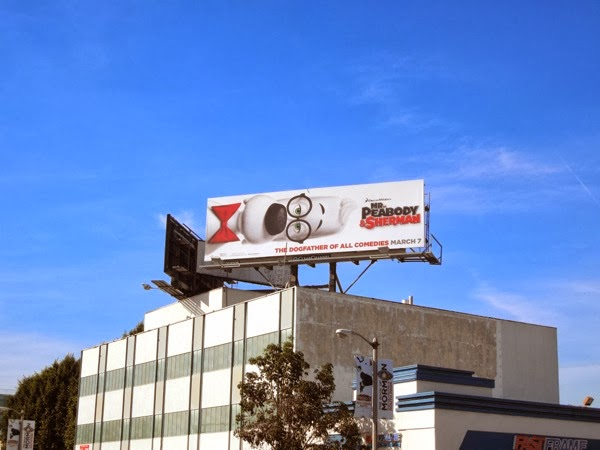 Mr Peabody Sherman movie billboard