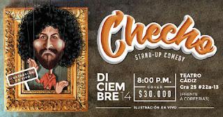 POS 2 Stand Up Comedy CHECHO en Bogotá