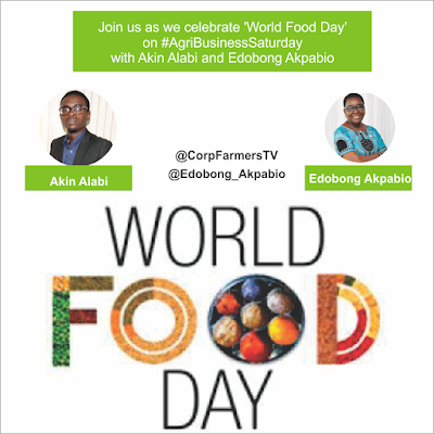 In preparation of the World Food Day on AgribusinessSaturday