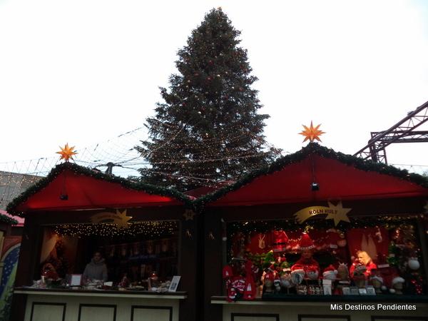 Mercadillo de Navidad de Colonia (Alemania)