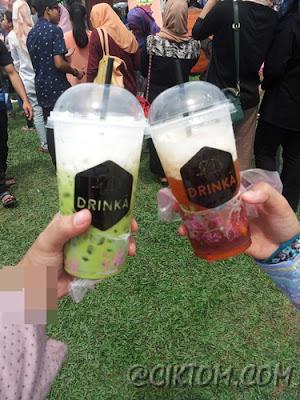 Thai Green Milk Tea & Lemon Tea
