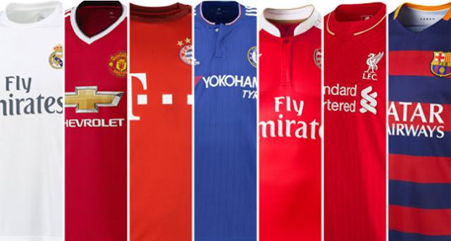 Las diez camisetas mejor pagadas de la próxima temporada