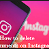 How to delete comments on Instagram Android phones, iphone or windows