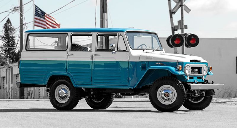 classic and vintage cars: 1967 Toyota FJ Cruiser Appeared