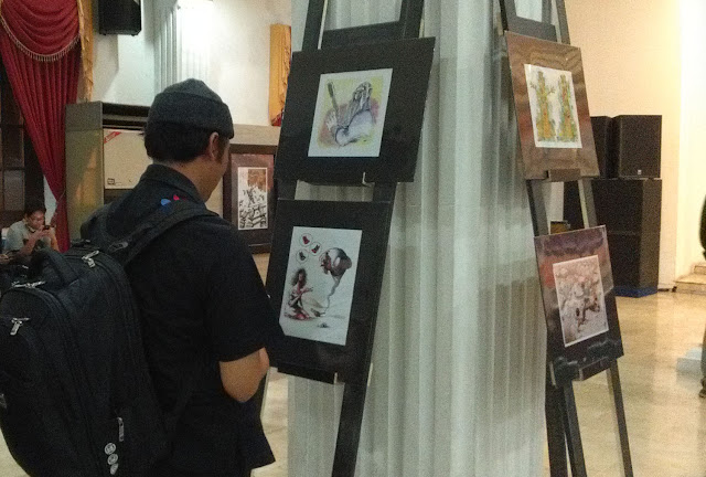 SECAC INternasional Cartoon Exhibition 2016