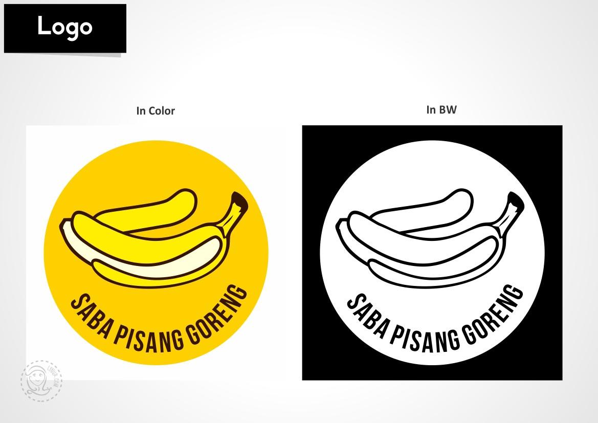 Logo Pisang Goreng Saba - lynur   Mom Blogger Medan