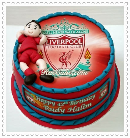 Liverpool Cake For Rudy Kue Ulang Tahun Birthday Cake