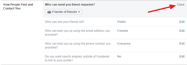 disable friend request button