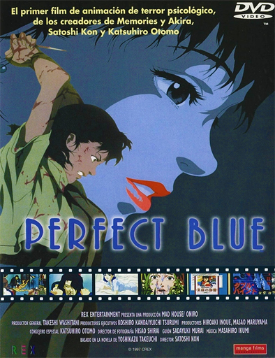 Ver Perfect Blue (Pafekuto buru) (1997) Online