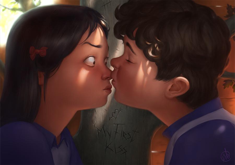 [Truyện ngắn] Tôi tập hôn như thế nào?