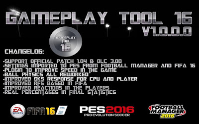 PES 2016 Yaku Gameplay Tool V1.0.0