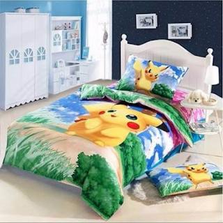 pokemon Pikachu  nevresim takimi