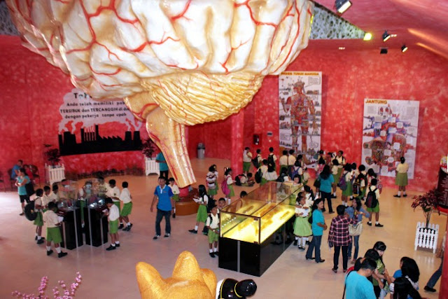 Museum tubuh Bagong Adventure, Batu-Malang.