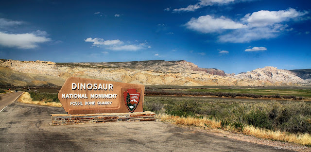Dinosaur National Monument Utah geology fossils travel rocks hiking camping outdoors scenery copyright RocDocTravel.com