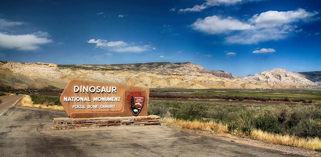 Dinosaur National Monument Utah geology fossils travel rocks hiking camping outdoors scenery copyright RocDocTravel.com
