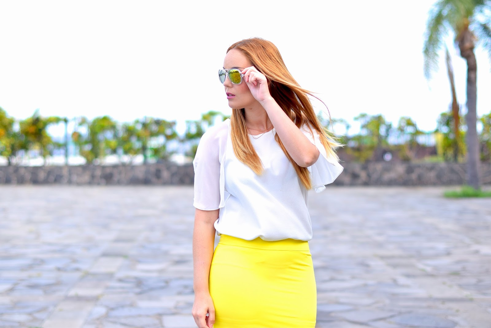 nery hdez, chicwish, zerouv, reflective sunglasses, primark, mules