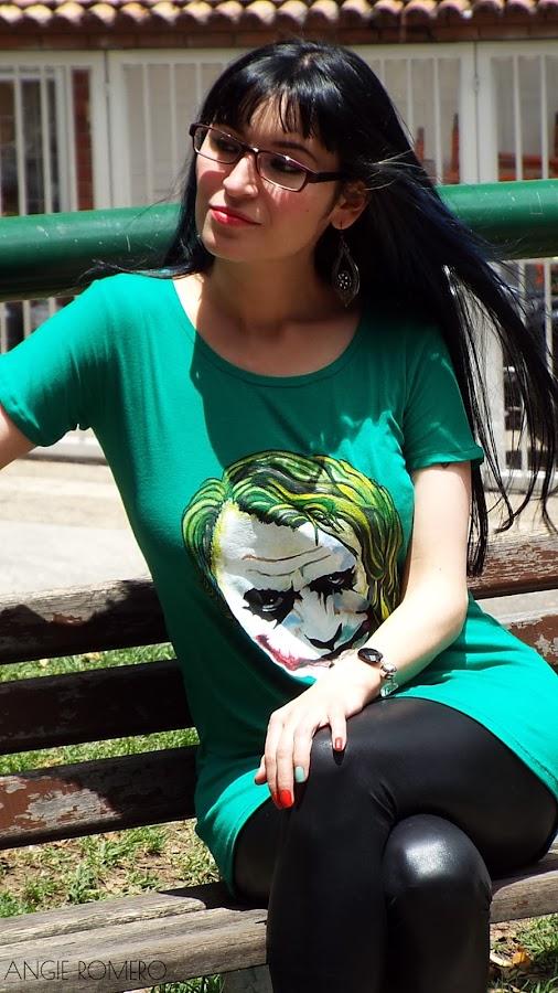 Como hacer camiseta Joker sin moldes sin patrones