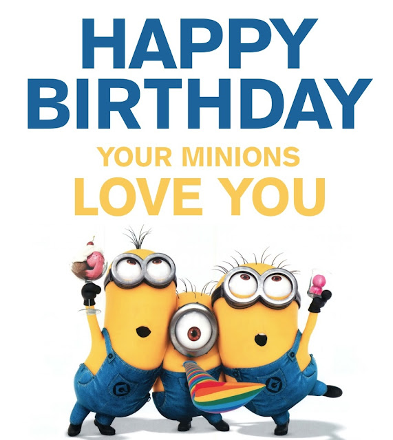 Download Minion Birthday Wallpapers