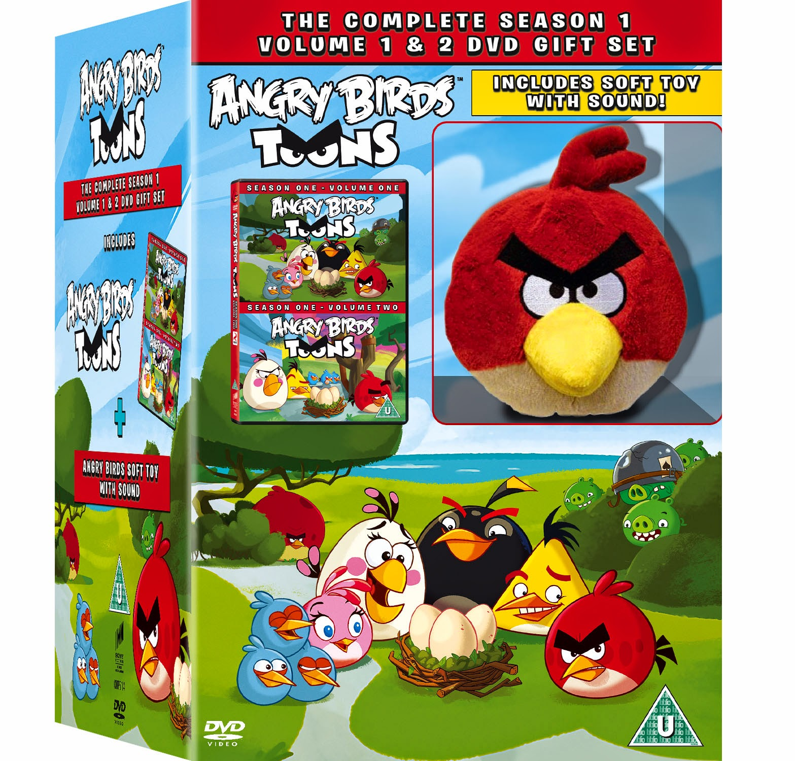 ac03b798be Hands up if you have an Angry Birds fan in your household. Well, you've  played the game, now catch up on the cartoon series !