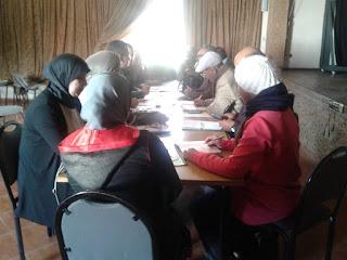 اجتماع أعضاء الفرع الإقليمي لجمعية تنمية التعاون المدرسي