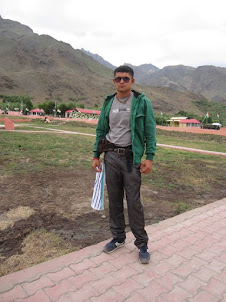 "Co-Traveller from Bulsar Mr Kunal.Desai at ""Kargil War memorial""."