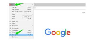 Opera browser Settings