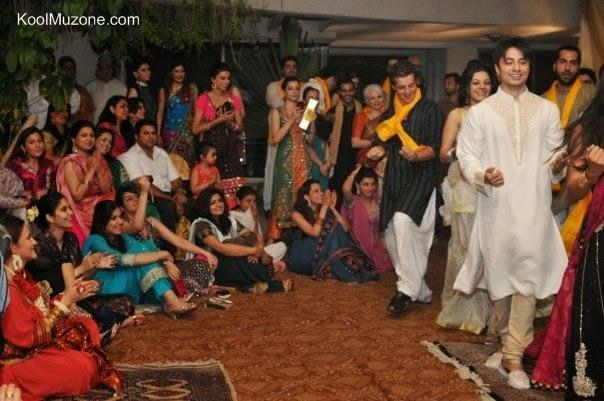 Ali Zafar S Brother Wedding Bollywood Celebrities Are