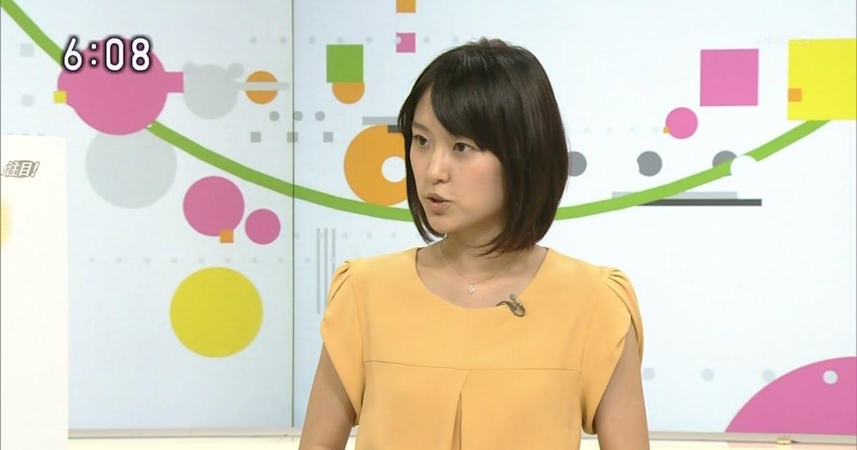 女子アナ画像コレクション: 近江友里恵 NHKニュースおはよう日本 2014年9月3日