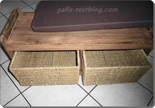 gafi 39 s testblog eine sitzgelegenheit fuer den flur. Black Bedroom Furniture Sets. Home Design Ideas