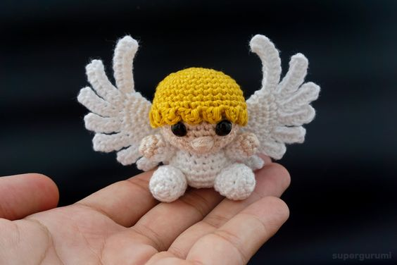 Angel pattern by Veronica McRae | Crochet angel pattern, Crochet ... | 376x564