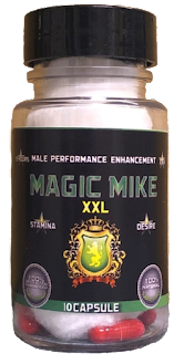 Magic Mike XX:L Male Enhancement 10 Capsule Bottle