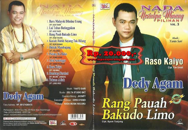 Dedy Agam - Rang Pauh Bakudo Limo (Album Nada Nostalgia Minang Pilihan Vol 3)