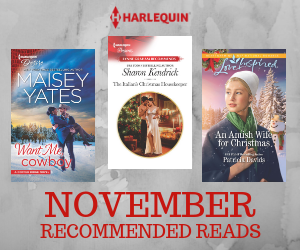 November Recommended Reads graphic