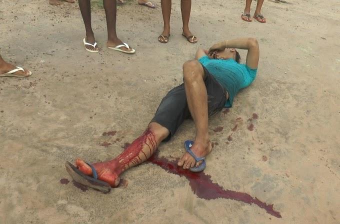 ITAITUBA: Um homem embriagado bate em um poste