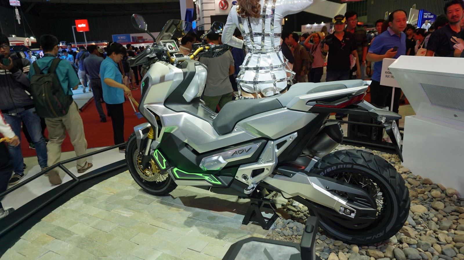 Honda ADV với vẻ ngoài hiện đại, tương lai dự sẽ tạo sức hút trong tương lai