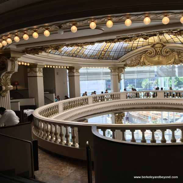 The Rotunda tea room at Neiman Marcus in San Francisco