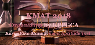 Karnataka KMAT 2018 : Registration, Exam date, Notification, Online application form, Syllabus, Exam pattern, Eligibility, Fee, How to apply-Application form