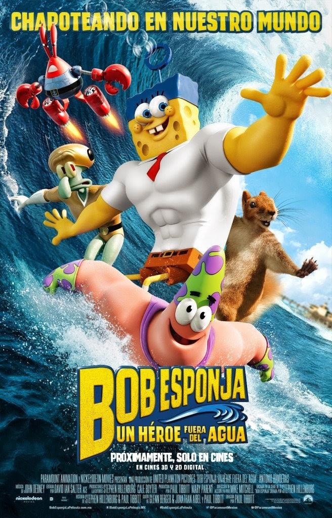 The SpongeBob Movie Sponge Out Of Water 3D สพันจ์บ็อบ ฮีโร่จากใต้สมุทร 3D  [HD]