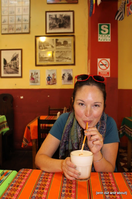 {Erin Out and About} Eating all the food of Lima, Peru