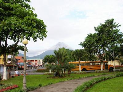 Volcán Arenal, La Fortuna, Costa Rica, vuelta al mundo, round the world, La vuelta al mundo de Asun y Ricardo, mundoporlibre.com