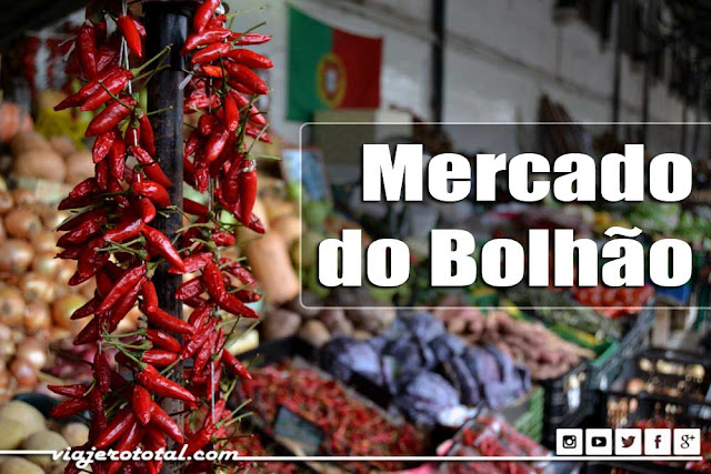 Mercado do Bolhão - Oporto - Portugal