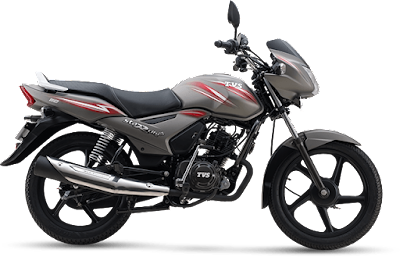 TVS Star City Plus india's no 1 110 cc bike