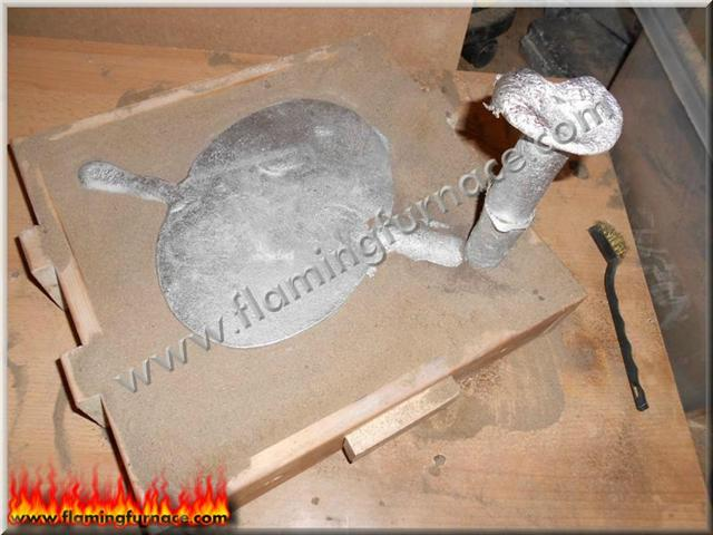Aluminum Foundry Sand Casting House no  25, 38 ~ Metal casting projects